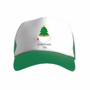 Kid's Trucker Hat Christmas tea
