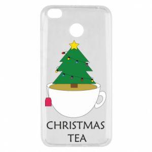 Xiaomi Redmi 4X Case Christmas tea