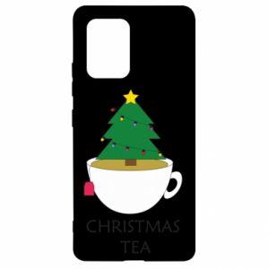 Samsung S10 Lite Case Christmas tea