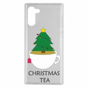 Samsung Note 10 Case Christmas tea