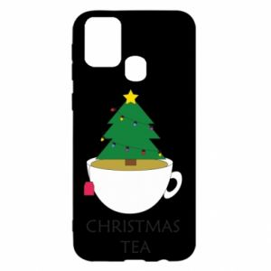 Samsung M31 Case Christmas tea