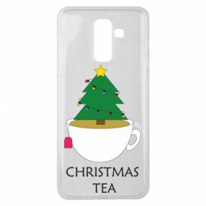 Samsung J8 2018 Case Christmas tea