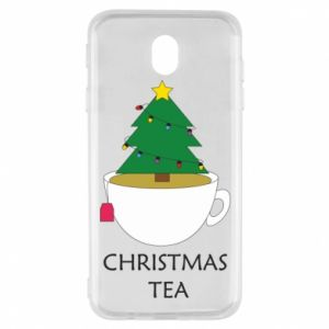 Samsung J7 2017 Case Christmas tea