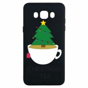 Samsung J7 2016 Case Christmas tea