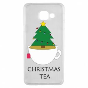 Samsung A3 2016 Case Christmas tea