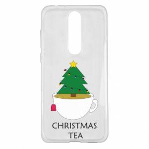 Nokia 5.1 Plus Case Christmas tea
