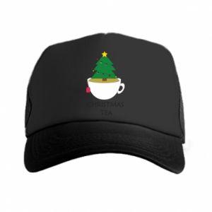 Trucker hat Christmas tea