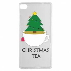 Huawei P8 Case Christmas tea