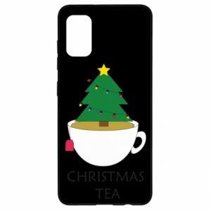 Samsung A41 Case Christmas tea