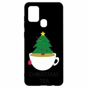 Samsung A21s Case Christmas tea