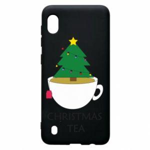 Samsung A10 Case Christmas tea