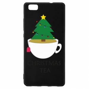 Huawei P8 Lite Case Christmas tea