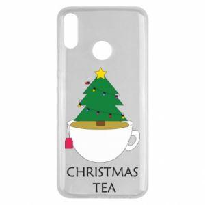 Huawei Y9 2019 Case Christmas tea
