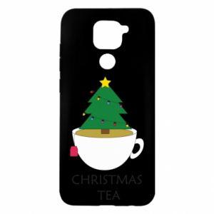 Etui na Xiaomi Redmi Note 9/Redmi 10X Christmas tea