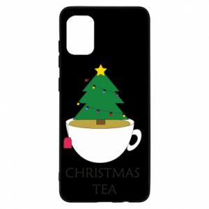 Etui na Samsung A31 Christmas tea