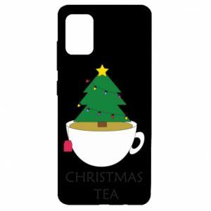 Etui na Samsung A51 Christmas tea