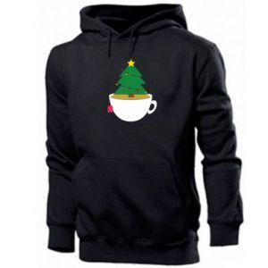 Men's hoodie Christmas tea