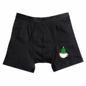 Boxer trunks Christmas tea