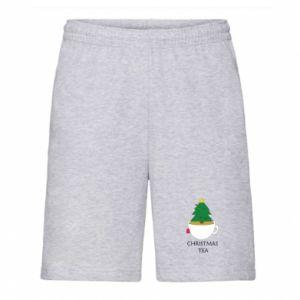 Men's shorts Christmas tea