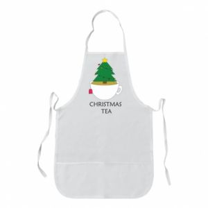Apron Christmas tea
