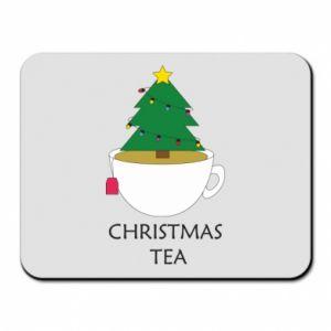 Mouse pad Christmas tea