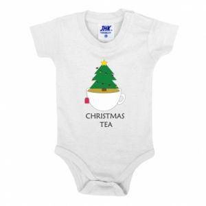 Baby bodysuit Christmas tea