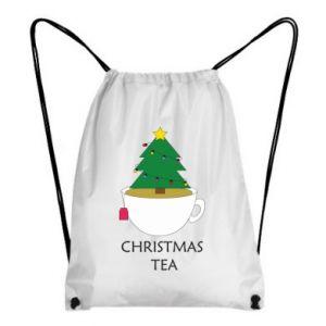 Backpack-bag Christmas tea