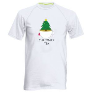 Men's sports t-shirt Christmas tea