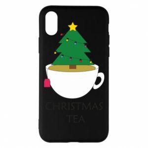 iPhone X/Xs Case Christmas tea