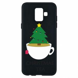 Samsung A6 2018 Case Christmas tea