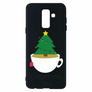 Samsung A6+ 2018 Case Christmas tea