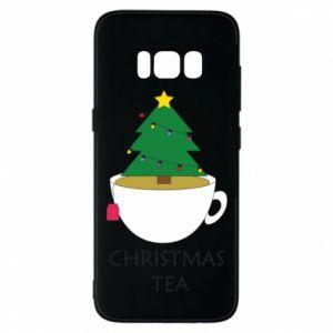 Samsung S8 Case Christmas tea