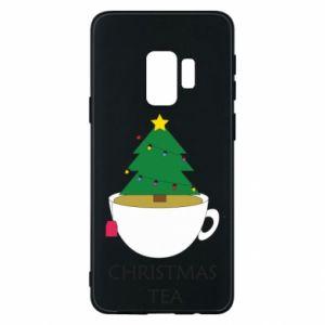 Samsung S9 Case Christmas tea