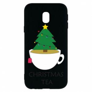 Samsung J3 2017 Case Christmas tea