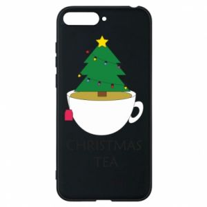 Huawei Y6 2018 Case Christmas tea