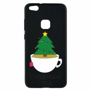 Huawei P10 Lite Case Christmas tea