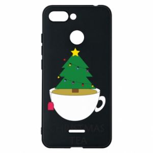 Xiaomi Redmi 6 Case Christmas tea