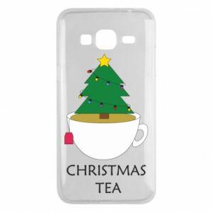 Samsung J3 2016 Case Christmas tea