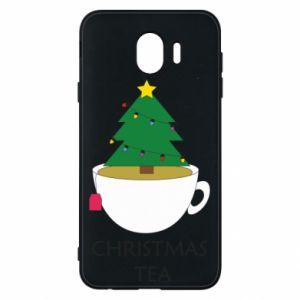 Samsung J4 Case Christmas tea