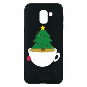 Samsung J6 Case Christmas tea