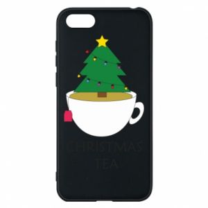 Huawei Y5 2018 Case Christmas tea