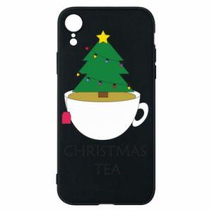 iPhone XR Case Christmas tea