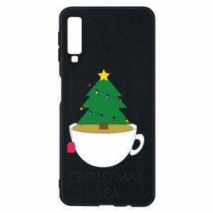 Samsung A7 2018 Case Christmas tea
