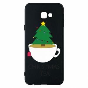 Samsung J4 Plus 2018 Case Christmas tea