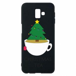 Samsung J6 Plus 2018 Case Christmas tea