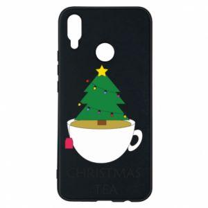Huawei P Smart Plus Case Christmas tea
