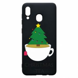 Samsung A30 Case Christmas tea