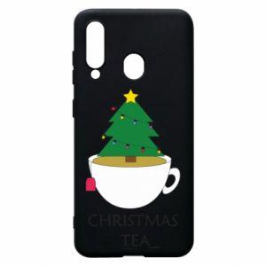 Samsung A60 Case Christmas tea