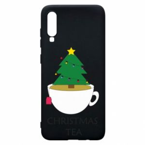 Samsung A70 Case Christmas tea