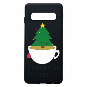 Samsung S10 Case Christmas tea